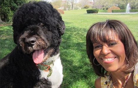 Auch Michele Obama kann Selfie © Michele Obama